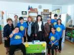 Лайънс клуб Габрово дари телевизор на ДЦПЛУ Габрово за 10 годишния юбилей на центъра